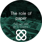 BCNMedialab: the role of paper