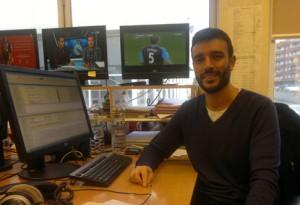 Alex Castells es periodista deportivo de TV3