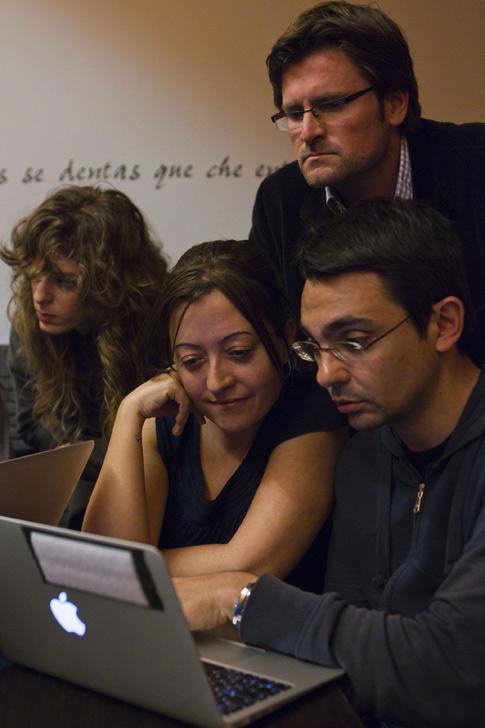 Periodistas que fundaron Público están al frente del proyecto-  Foto de Ángel Navarrete/Mónica Patxot